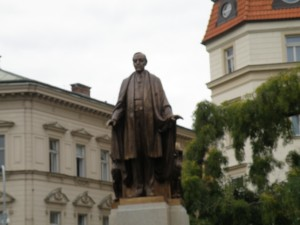 Woodrow Wilson statue, Prague