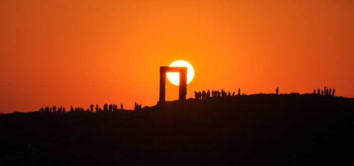 Greece sunset (Naxos)