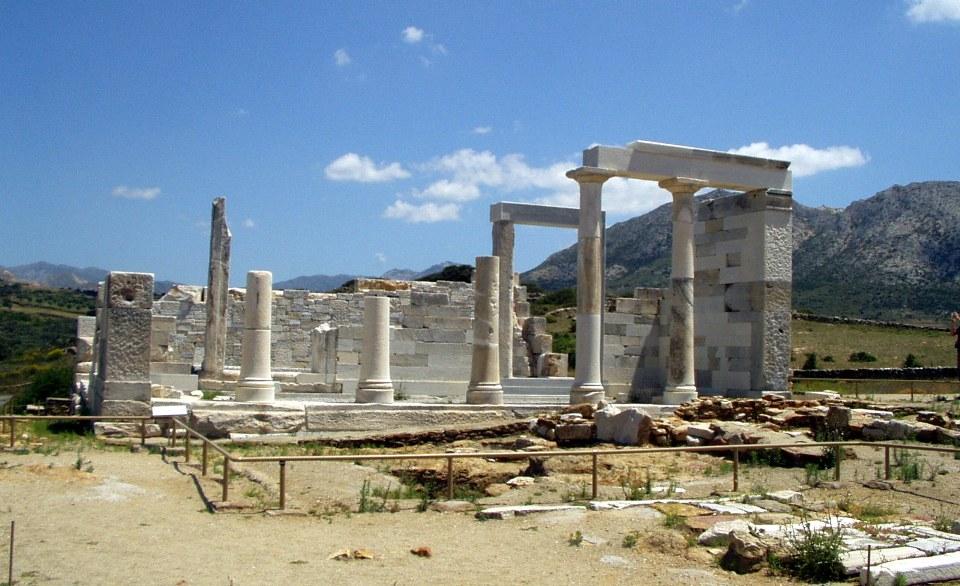 Demeter temple Naxos