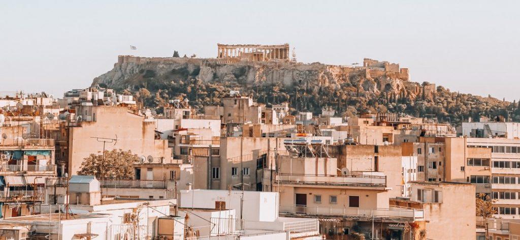 Athens with Acropolis