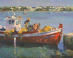 Fishermen in Aliki