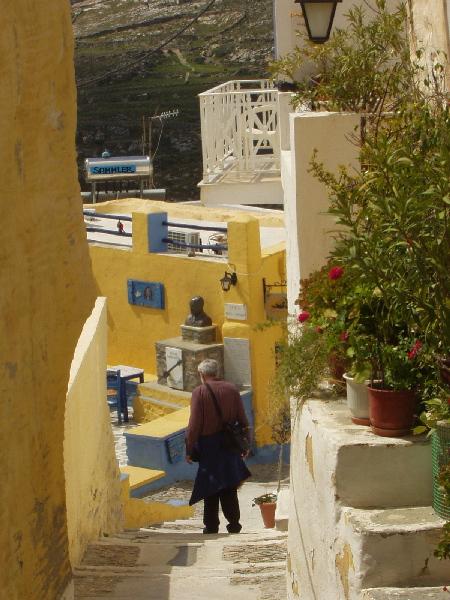 Ano Syros steps