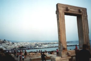 Naxos ancient gateway
