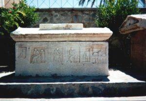 sarcophagus on Paros