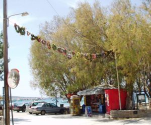 May wreaths in Aliki
