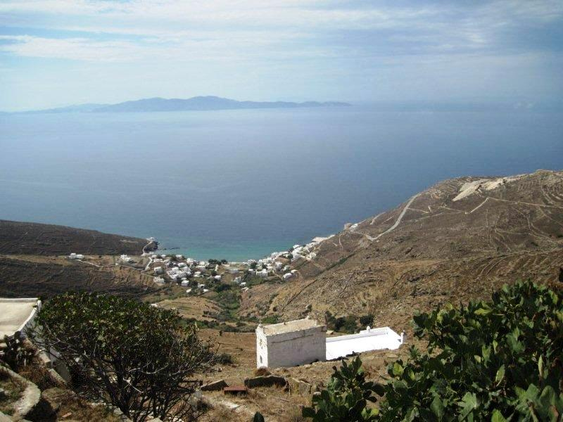 Tinos coastal village