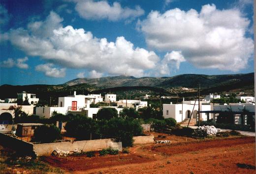 Garden and village
