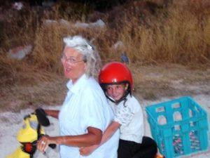 Tim, Karin, scooter