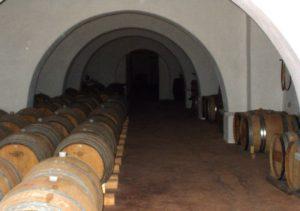 wine barrel vault