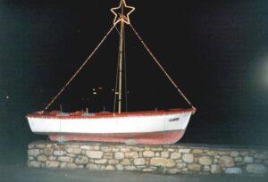 Aliki Christmas boat