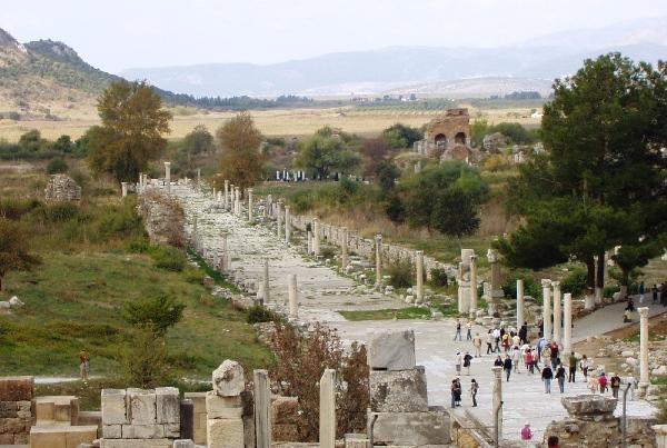 Ephesus entryway