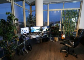 wealthy home office