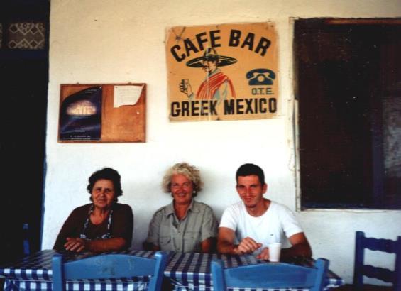 now closed taverna on Antiparos