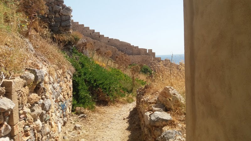 End of the road on Monemvasia